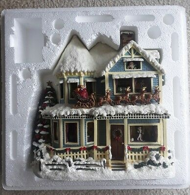 Thomas Kinkade Hawthorne Village The Night Before Christmas Story House