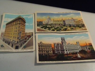 8 Cuba Postcards and One Dominican Republic