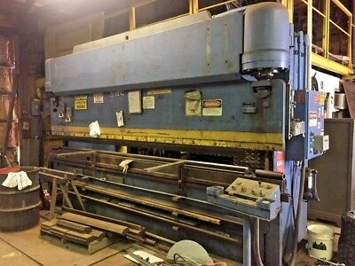 Pacific 165 Ton x 14ft Hydraulic Press Brake- High Speed