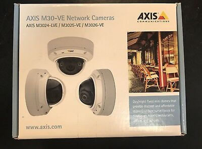 Axis Security Camera M3024-LVE NETWORK DOME CAMERA ( New, Sealed In Box)