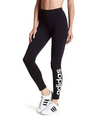 0740e085cfa adidas S97155 Women's Essential Linear Leggings Athletic Running Tight