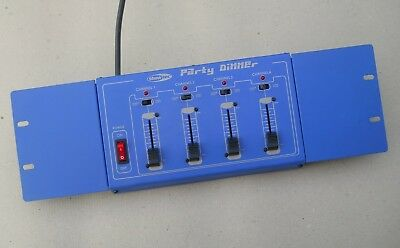 Showtec Party Dimmer 4-Channel Light Dimmer