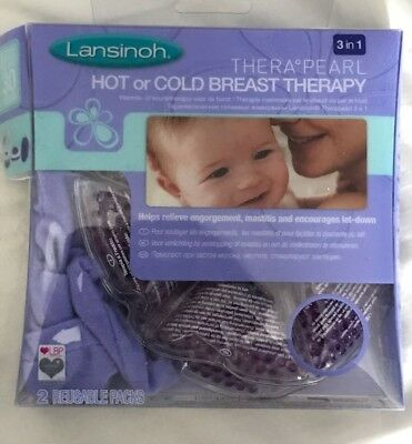 Lansinoh Thera Pearl 3-in-1 Hot and Cold Breast Therapy