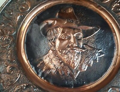 RUBENS large 60cm Copper ART WORK  .... REDUCED NOW.