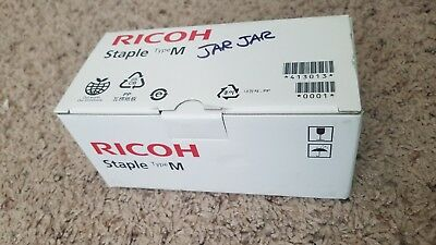 Genuine OEM Ricoh Type M Staple Cartridge 1200R-AM 413013