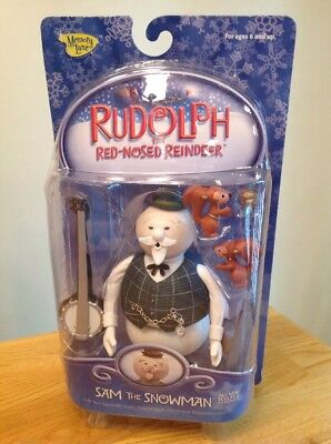 Rudolph the Red Nosed Reindeer figure - Sam the Snowman!!!