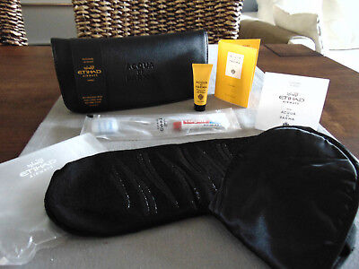 ETIHAD AIRWAYS Business Class ACQUA DI PARMA Amenity Kit Trousse Kulturbeutel
