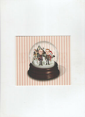 Erasure Snow Globe Limited Edition Postcard - Andy Bell