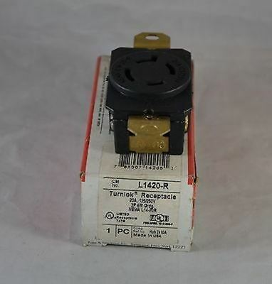 L1420-R  -  Pass & Seymour  -  Locking Receptacle