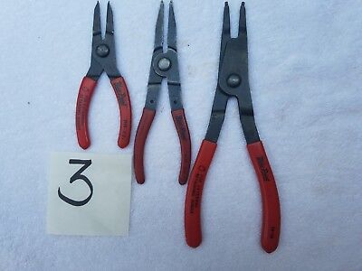 Blue Point Snap Ring Pliers-Set of 3
