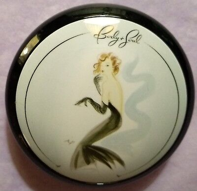 BODY & SOUL Lovely '40's Style Vintage Folding Makeup Mirror Compact! NEVER USED