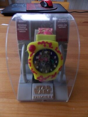 Star Wars Jar Jar Binks watch new in plastic case