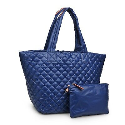 Quilted tote bag lightweight new with tags