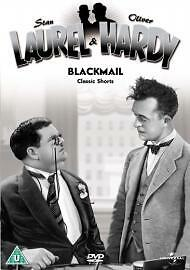 Laurel and Hardy Classic Shorts: Volume 8 - Blackmail! DVD (2004) Stan Laurel