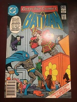 Detective Comics #504 Featuring The Joker Playland On Cover Batman
