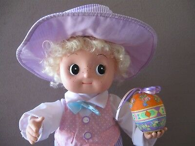 """EASTER DISPLAY FIGURE ANIMATED """"SMALL FRY"""" SO CUTE for your Easter decor"""
