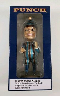 Punch Cigars Mr. Punch Jester Bobblehead Promotional Collectors Edition NIB
