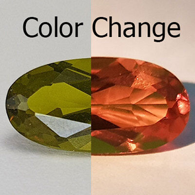 6.00 Cts 15X7Mm Vs2 Long Oval Color Change Natural Turkish Diaspore