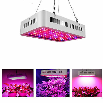 600W 1200W  Watt LED Grow Light Lamp Plants Flower Oganic Growing Full Spectrum