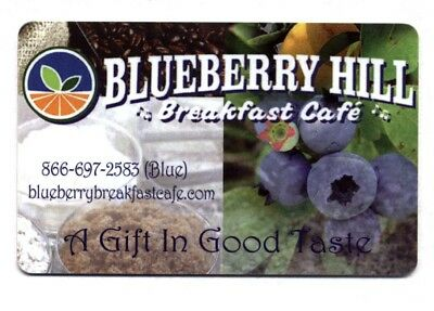 $25.00 Blueberry Hill Cafe restaurant gift card