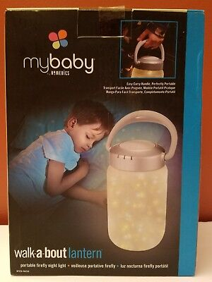 NEW HOMEDICS My Baby Walk A Bout Lantern Toy Firefly Night Light