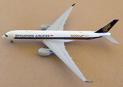 JC Wings A350-900 Singapore Airlines 9V-SMF 10,000th Airbus 1:400