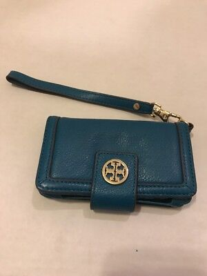 b297eac66701 TORY BURCH SAFFIANO Leather Green ROBINSON Zip Around Continental ...