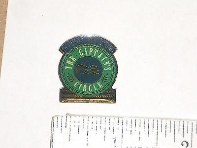 "Vintage Princess Cruise Line First Officer The Captain's Circle 1""  Pin"