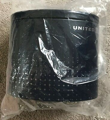 """NEW SEALED United Airlines Polaris Business Class """"Northstar"""" Tin Amenity Kit"""