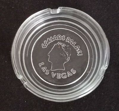 Vintage Clear Caesar's Palace Las Vegas, Nevada Ashtray - collectable