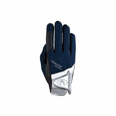 Roeckl Madrid Unisex Gloves Competition Glove - Navy Blue All Sizes