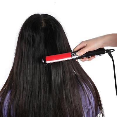 Hair Straightener Curler Mini USB Rechargeable Wireless Adjustable Flat