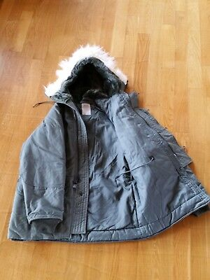 NEW Extreme Cold Weather PARKA N-3B Military Army Air Force MEDIUM NOS