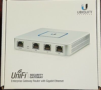 UniFi Security Gateway Enterprise Gateway Router with Gigabit Ethernet