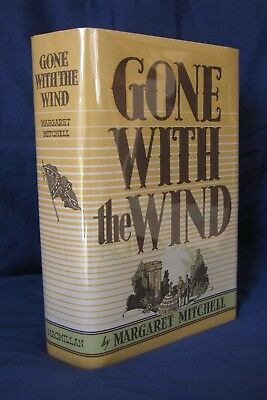 GONE WITH THE WIND Margaret Mitchell 1st First Edition, JUNE Print, 1936