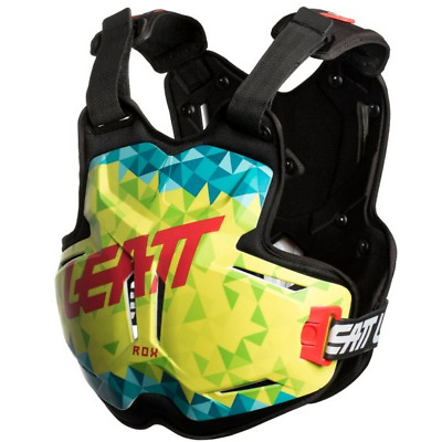 NEW LEATT Adult Body Armour Chest Protector 2.5 PRO ROX LIME TEAL MX SX Racing