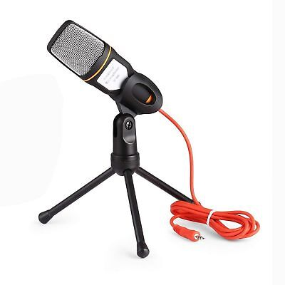 PC Studio USB Condenser Microphone Recording Broadcasting Podcast MIC with Stand