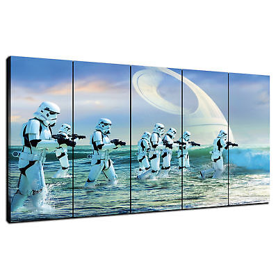 HD Print Oil Painting Home Decor Art on Canvas Star Wars Stormtroopers Unframed