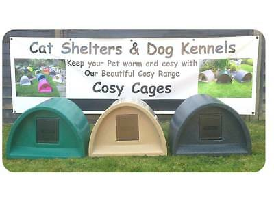 Cosy Cages Choice Of Colours £54.00 Outdoor Cat Shelter/kennel Cat Bed