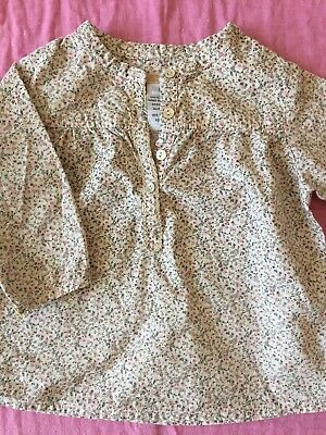 Fred Bare Baby Girl's Long Sleeve Top. Size 0
