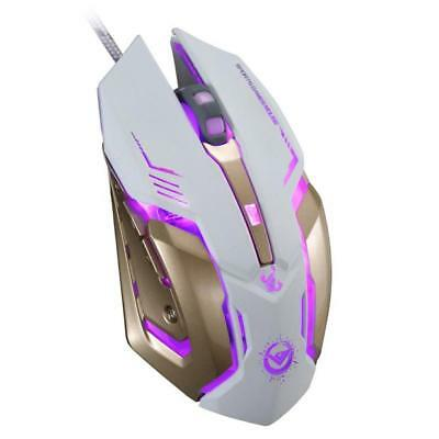 Ergonomic Wireless/Wired  Gaming Mouse with 6 Buttons Optical For PC Laptop