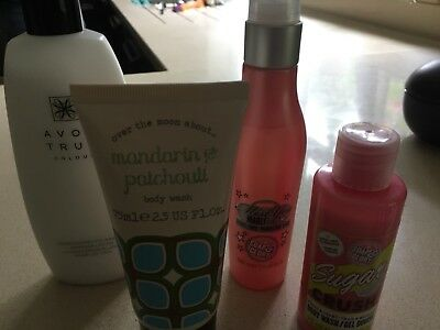 Beauty bundle; Soap & Glory, Avon, Over the moon about