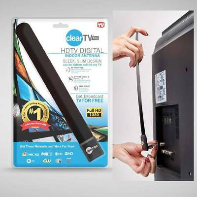 Clear TV Key Full HDTV Free TV Indoor Digital Antenna Ditch Cable As Seen on TV