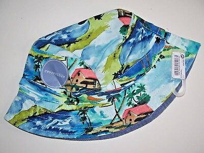 NEW Next Baby Boys Summer Hat Age 0 3 Months Tropical Sun Bucket Fishermans NWT