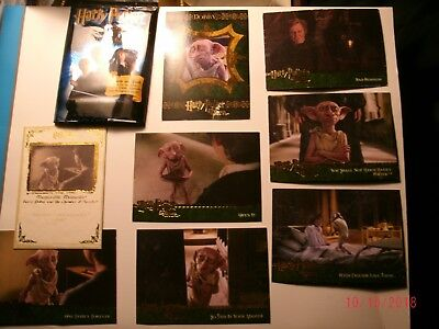 HARRY POTTER trading cards Chamber of Secrets ArtBox Good condt. Priced to sell