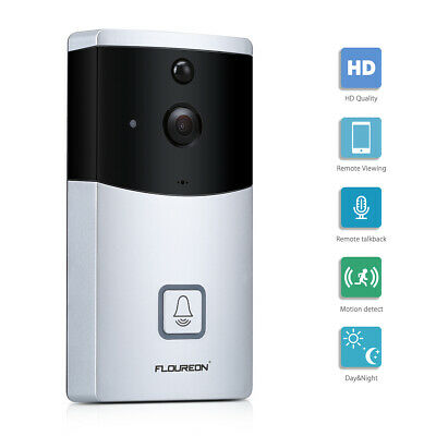 """FLOUREON 4CH 1080P HD Security Network 2 MP IP Camera System 12""""Monitor NVR Kit"""