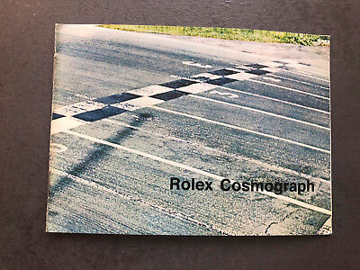 Rolex Daytona Cosmograph Booklet for Ref. 6263 6262 6265 Instruction Manual 1972