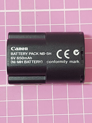 Genuine & Original Canon Battery Pack Nb-5H - Uk Seller