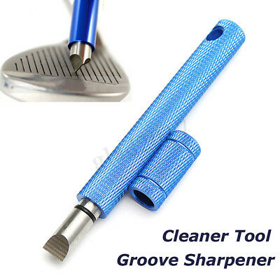Groove Sharpener & Cleaner Cleaning Tool Regrooving U V Grooves for Golf Club