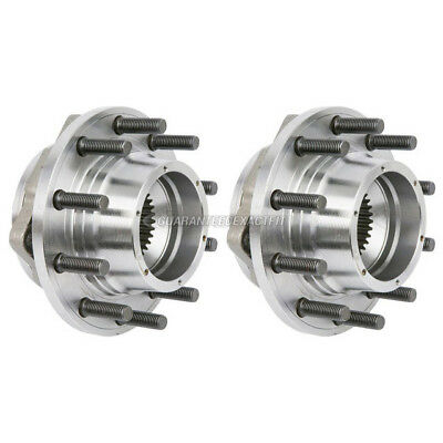 For Ford F-450 F-550 Super Duty 2005-2010 Pair Front Wheel Hub Bearing Assembly